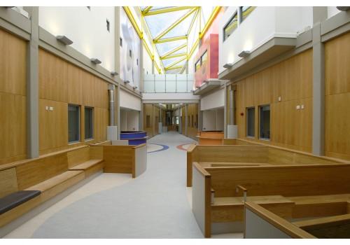 New Build At Hinchingbrooke Hospital